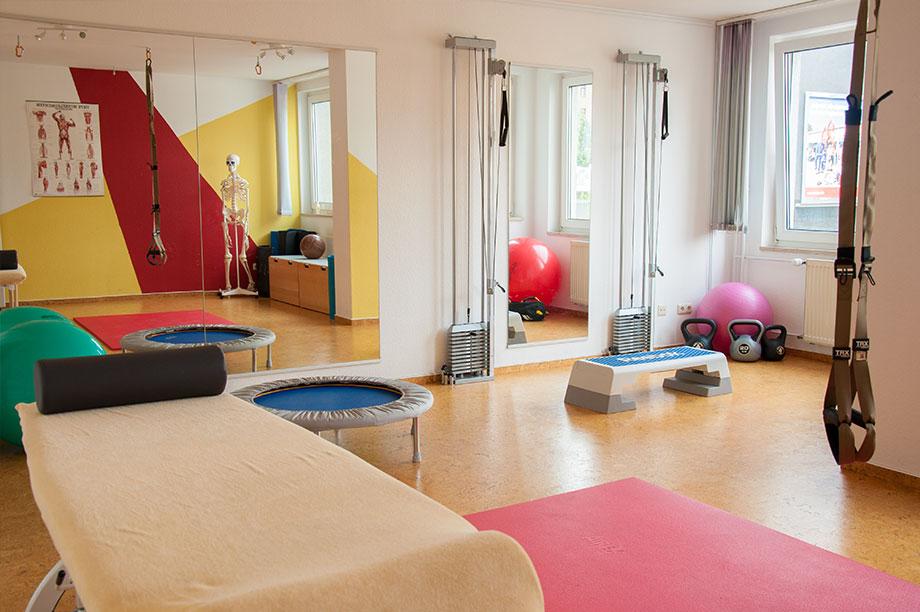 Physiotherapie_Kreuzberg_Physalis_Trainingsraum